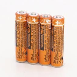 4pcs AAA battery HHR-4DPA For Panasonic Cordless Phone 1.2V