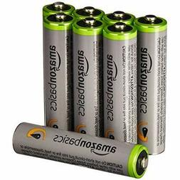 AAA High-Capacity Rechargeable Batteries  Pre-charged Packag