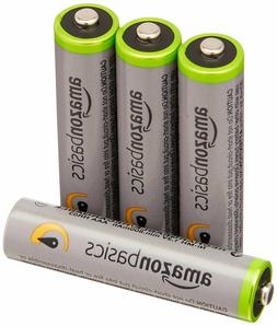AmazonBasics AAA High-Capacity Rechargeable Batteries Packag