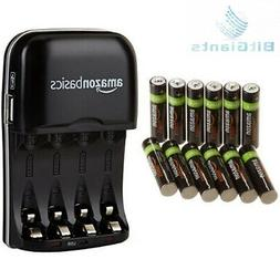 AmazonBasics AAA Rechargeable Batteries  and Ni-MH AA & Batt