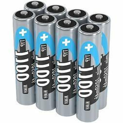 ANSMANN 1100 mAh AAA High Capacity Rechargeable Batteries 8