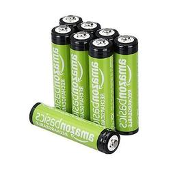 AmazonBasics AAA Rechargeable Batteries  Pre-charged - Packa
