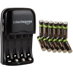 AmazonBasics AAA Rechargeable Batteries  and Ni-MH AA & AAA