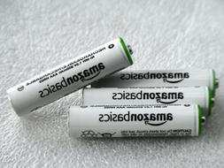 AAA Rechargeable NiMH Amazonbasics Batteries 800mAH  New, Sh