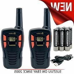 Cobra AM245 Walkie Talkie Radios 2│Rechargeable Batteries