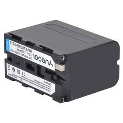 Andoer Rechargeable Replacement Camera Camcorder Li-ion Batt