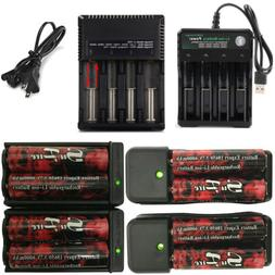 Battery 18650 Battery Li-ion Rechargeable 3.7V For LED Flash