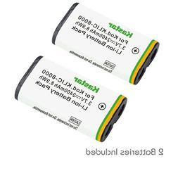 Kastar Battery  for Kodak KLIC-8000, K8000 work with Kodak Z