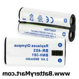 Empire Scientific BNH-381 Olympus BR403 Ni-Mh 900mAh Battery