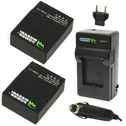 Battery  & Charger for GoPro HD HERO3, HERO3+ AHDBT-301-201