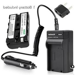 Battery and Charger FOR SONY DCR-VX1000 DCR-VX2000 DCM-M1 NP