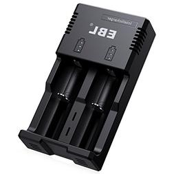 EBL Battery Charger for Li-ion/IMR/Ni-MH/Ni-Cd 26650 22650 1