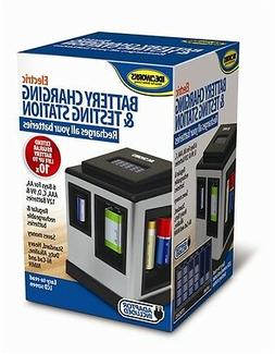 Battery Charging & Testing Station Charger Charge Regular Re