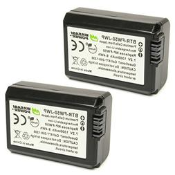 Wasabi Power NP-FW50 Battery  for Sony Alpha a5100, a6000, a