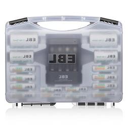 EBL Battery Sets 02 - EBL Rechargeable Batteries Combo with