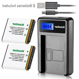Kastar Battery  & LCD Slim USB Charger for Kodak KLIC-7001,