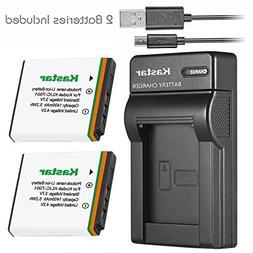 Kastar Battery  & Slim USB Charger for Kodak KLIC-7001 and K