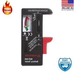 Battery Tester Test Standard Rechargeable Batteries: 9V, AA,