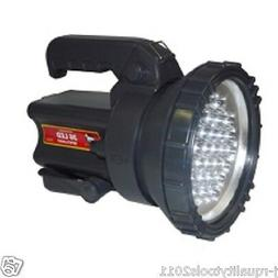 BIG LED BATTERY OPERATED RECHARGEABLE HAND SPOT LIGHT LAMP S