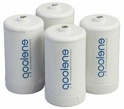 Bq-Bs1E4Sa Eneloop D Size Battery Adapters For Use With Ni-M