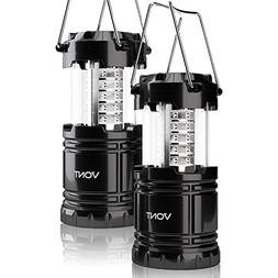 Vont 2 Pack LED Camping Lantern, Portable, Great Addition to