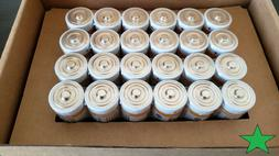C Cell 1.5 Volt Everyday Alkaline Batteries - . Factory Seal