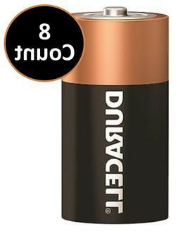 Duracell C Coppertop Battery Alkaline Batteries ~ 8 Pack ~ E