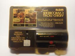 RCA CAMCORDER VIDEO LIGHT VDC88 W/ BATTERY CHARGER-1993
