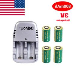 camera 3v 800mah cr2 rechargeable 15270 lithium