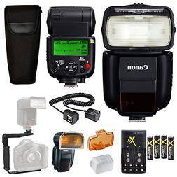 Canon Speedlite 430EX III-RT Flash + Canon Speedlite Case +