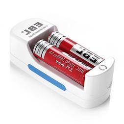 Ultrafire Charger + 2pcs 3.7V 18650 3000mAh Li-Ion Rechargea