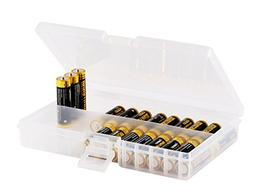 Whizzotech AA Battery Storage Case Battery Holder Organizer