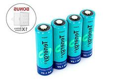 Tenergy Combo 4PCS AA 2600mAh High Capacity NiMH Rechargeabl