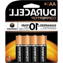 Duracell Coppertop AA Alkaline Household Batteries, 4 Hou W