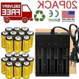 CR123A 16340 3.7V Li-Ion Rechargeable Batteries for Netgear