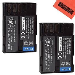 BM Premium Pack Of 2 D-LI90, DLI90 Batteries for Pentax K-1