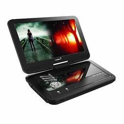 Impecca DVP1016 10.1 Inch Portable DVD Player, 6 Hour Rechar