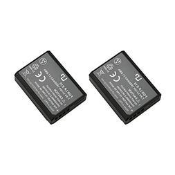 LP LP-E10 Battery Set, 2-Pack Rechargeable Li-Ion Battery, C
