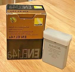 Nikon EN-EL14a  Rechargeable 7.2V Li-Ion Battery - New - OEM