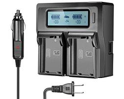 EN-EL15 EN-EL15A Dual LCD Battery Charger for Nikon DSLR D81