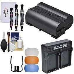 Nikon EN-EL15b Rechargeable Li-ion Battery with Dual Bay Cha
