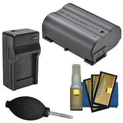 Nikon EN-EL15b Rechargeable Li-ion Battery with Charger + Ni