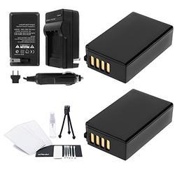 UltraPro EN-EL20 / EN-EL20a 2-Pack Battery Bundle with Rapid