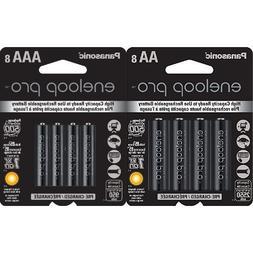 Panasonic Eneloop Pro AA and AAA High Capacity Ni-MH Pre-Cha
