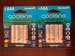 Panasonic Eneloop AAA NiMH Rechargeable 8 Pk batteries 2100