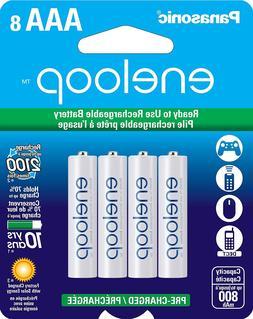 Panasonic Eneloop AAA Size Ni-MH Rechargeable Batteries