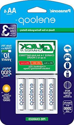 Panasonic Advanced eneloop Individual Battery 3 Hour Quick C