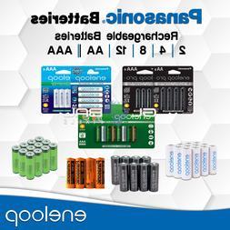 Panasonic Eneloop/Pro Rechargeable Battery 4/8/16 AA AAA 186