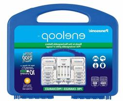 Panasonic Eneloop Rechargeable Battery Kit Quick Charger AA/