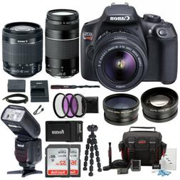Canon EOS Rebel T6 18.0 MP DSLR Camera w EF S 18 55mm IS II